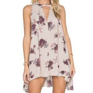 Free People Snap Out Of It Swing Dress Floral